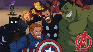 Avengers Assemble - Avengers Infinity War Parody Animation - MOVIE SHENANIGANS