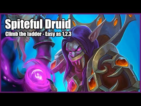 Hearthstone Witchwood Gameplay | CLIMB THE LADDER | EASY AS 1,2,3 | Hearthstone Decks