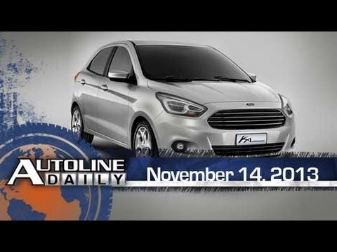 Ford's All-New Global Compact Car - Autoline Daily 1258
