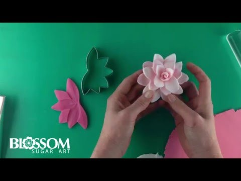Blossom Sugar Art Lily 2 pc flower cutter & mould set