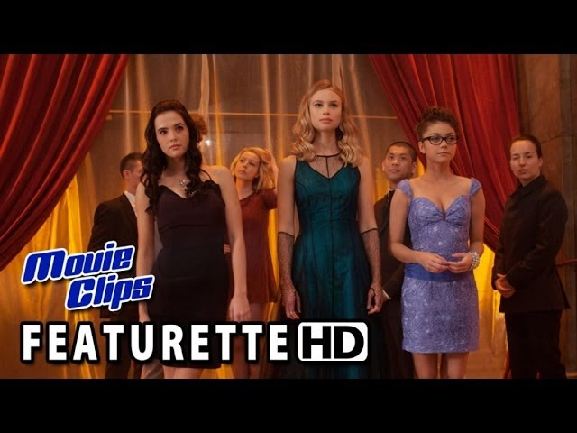 Vampire Academy Featurette - Richelle Mead (2014) HD
