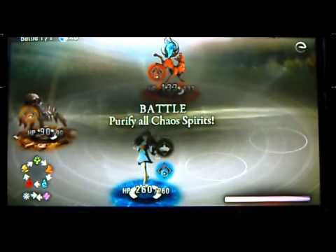 Destiny of Spirits (PS Vita) Gameplay - Tutorial and first bost fight :D