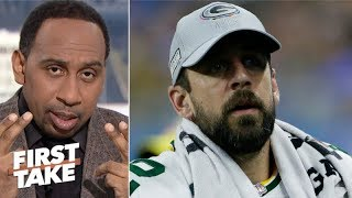 Stephen A.: Aaron Rodgers should demand trade from Packers | First Take