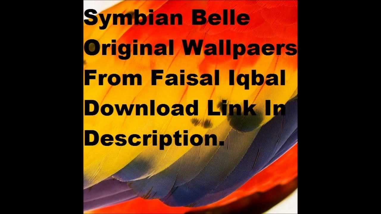 Download symbian belle original wallpapers download link youtube