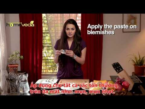 Cách làm mặt nạ giảm khuyết điểm trên da mặt (www.cachtrinamdamat.net)