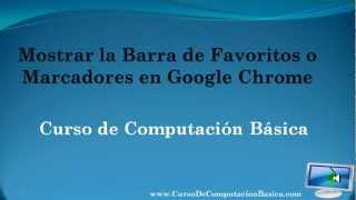 Como Poner Favoritos En Google Chrome