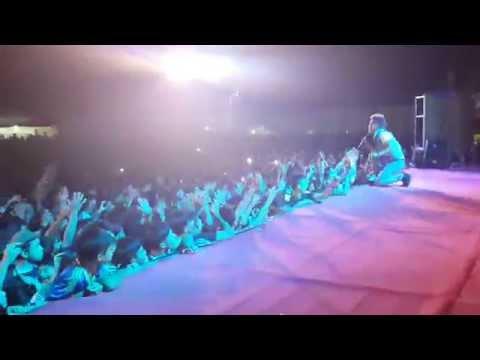 Du Thiên hát bản hit Xóa Hết, giới thiệu bản hit mới với khán giả  Đồng Mỏ - Lạng Sơn