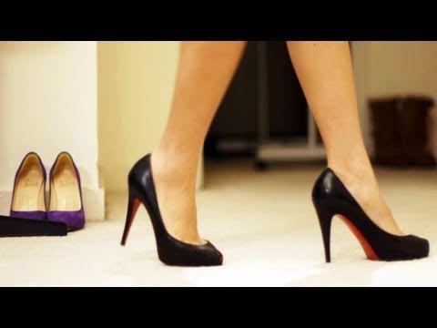 How To Walk In Heels Amp Stilettos P Youtube