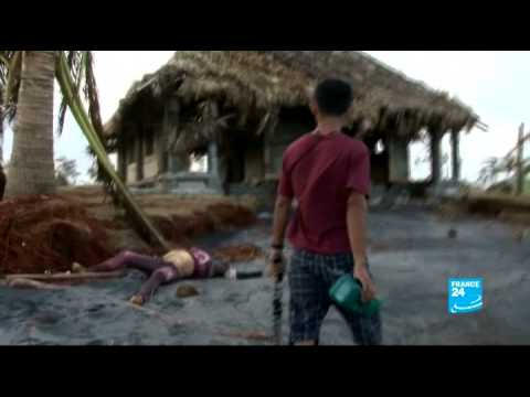 Survivors of Typhoon Haiyan still waiting for basic aid - #AsiaLive