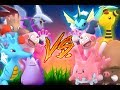 Pokemon GO Gym Battles Corsola Ditto Ampharos more CORSOLA VS CORSOLA