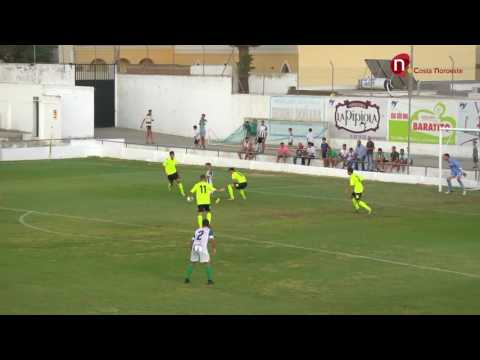 Resumen Atco Sanluqueño - Córdoba B -  Jornada 5 Segunda División B Grupo IV