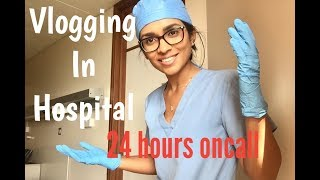 DAY IN THE LIFE OF A DOCTOR - VLOGGING IN HOSPITAL!