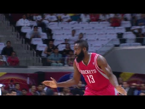 James Harden 21 Pts Highlights vs Indiana Pacers (2013.10.10) (NBA GLOBAL GAMES)