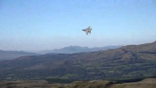 Low Flying Fighter Jets Mach Loop/Bwlch Pass