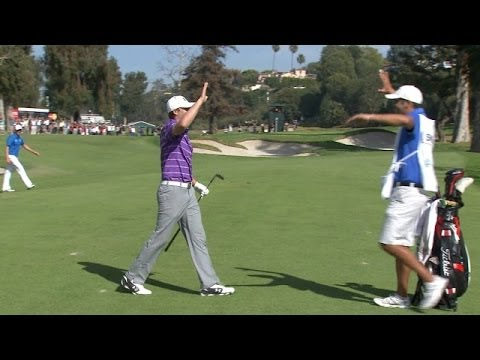 Jordan Spieth holes amazing eagle approach at Northern Trust
