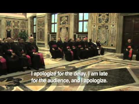 Pope Francis speaks out on sexual abuse | Newsbreak 12-3-2013