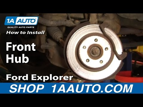 Auto Repair: Replace Front Hub Ford Explorer Sport Trac Mercury Mountaineer 95-05 - 1AAuto.com