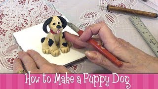 Polymer Clay Tutorial How To Make A Puppy Dog