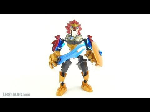 LEGO CHIMA - Chi Laval review! large action figure 70200