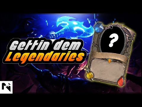 GETTING LEGENDARY | Hearthstone card pack opening | Multiple Legendaries