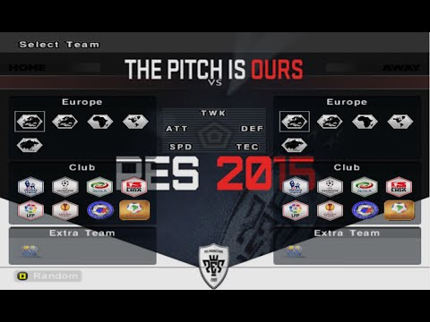 PES 6 | PATCH 2015 | DOWNLOAD | 07/2015
