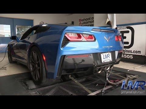 551rwhp All Motor C7 Corvette - LMR Stage III Heads/Cam Package