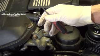 Замена соленоида системы VANOS на двигателе M54