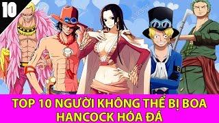 Top 10 người không thể bị Boa Hancock hóa đá trong One Piece - Top Anime