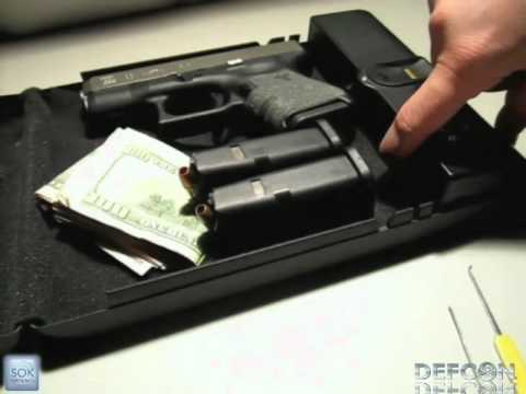 DEFCON 19: Safe to Armed in Seconds: A Study of Epic Fails of Popular Gun Safes
