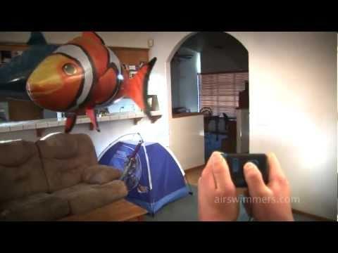 Super poissons dirigeables!