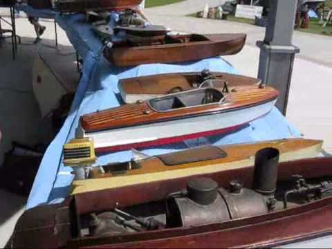 Rosseau Classic Cruise '09 Vintage Model Boats part 1
