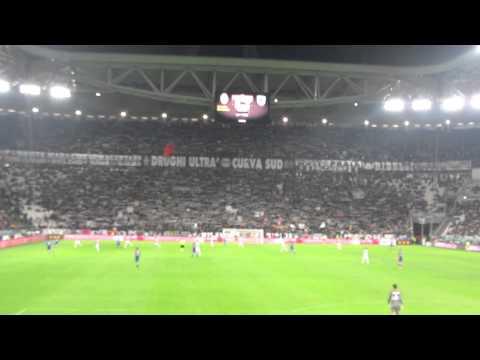 Juventus-Sampdoria 4-2 - Sciarpata Curva Sud Juventus - 18 gennaio 2014