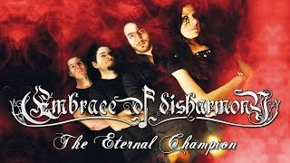 EMBRACE OF DISHARMONY - The Eternal Champion (lyric video)
