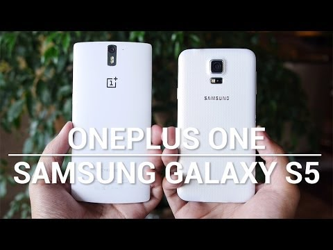 OnePlus One vs Samsung Galaxy S5 – Quick Look