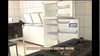 Criminosos invadem creche e furtam doa��es feitas � intitui��o no Bairro Camargo