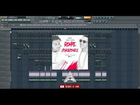 youtube video La Rompe Corazones- Daddy Yankee Ft Ozuna | Instrumental Remake | Prod Aitron to 3GP conversion