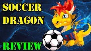 Dragon City SOCCER DRAGON How To Breed Combat Attacks And