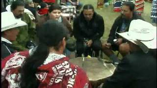 Plains Ojibway Singers @ Sandy Bay Pow Wow