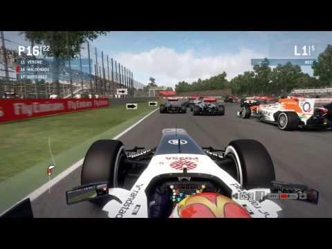 WAD HD™ - F1 2013 - Gameplay - #9 - Monza - Száguldás Maldonadoval
