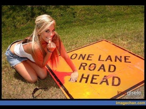 road head caught on tape