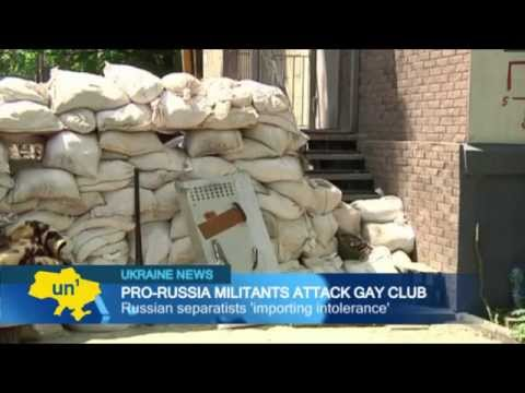 Kremlin-Backed Insurgents Attack Ukrainian Gays: Donetsk gay club targeted by Russian separatists