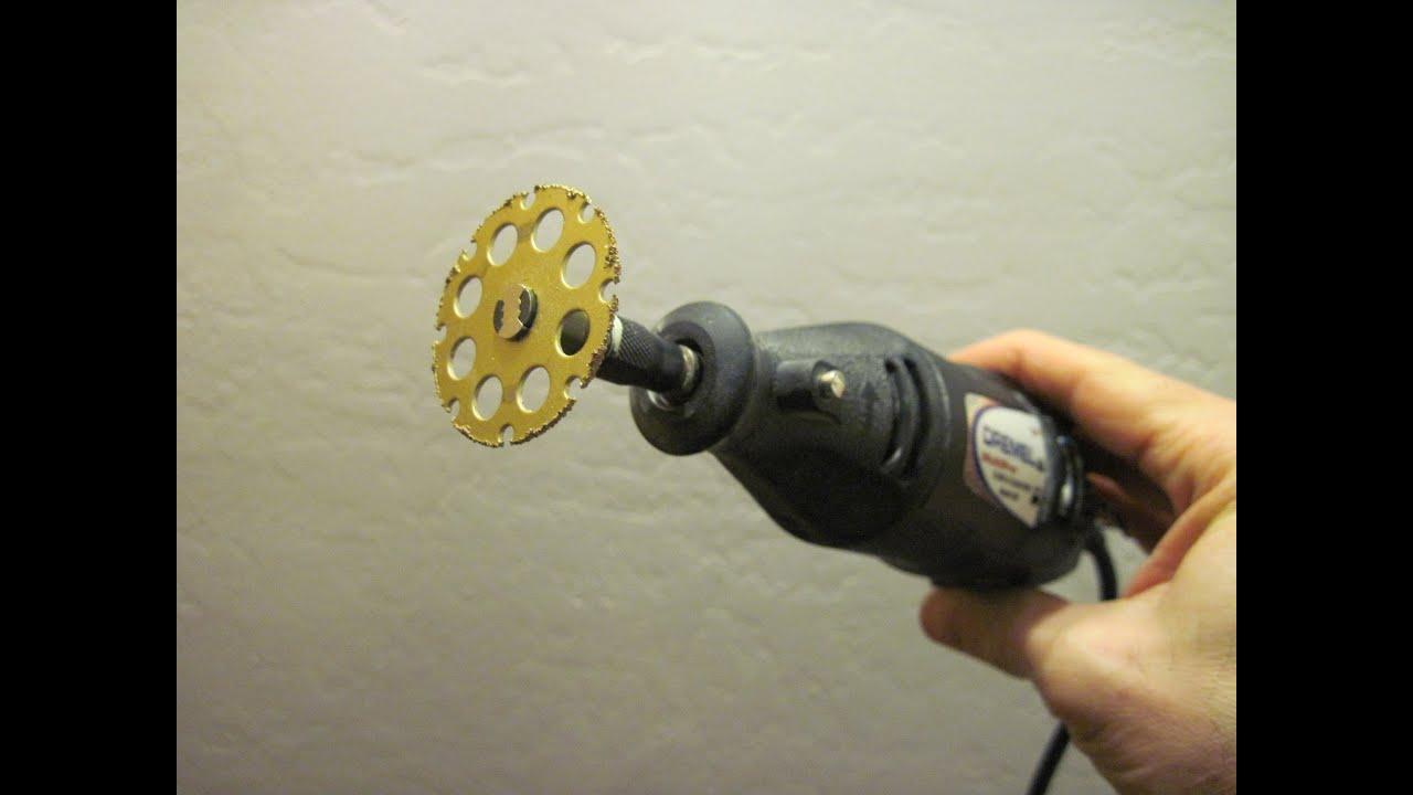 Dremel Ez Lock Wood Cutting Wheel 544 Youtube