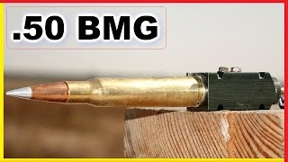 .50 BMG exploding OUTSIDE a gun - What Happens?