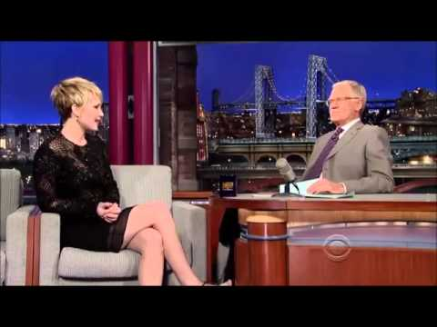 Jennifer Lawrence interview on David Letterman 20 November, 2013