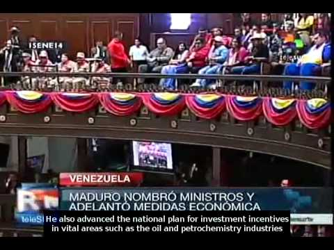 Nicolas Maduro gives his annual message to the Venezuelan people