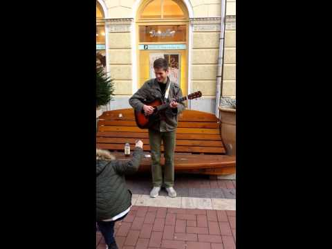 Avicii - Wake Me Up Street Music in Szeged (Hungary)