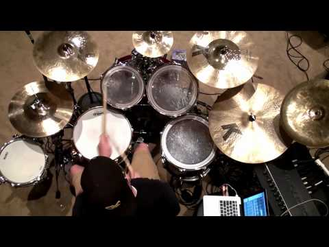 Mighty To Save - Hillsong United Drum Cover HD