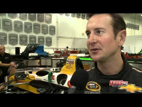 2013 Kurt Busch Seat Fitting at Andretti Autosport