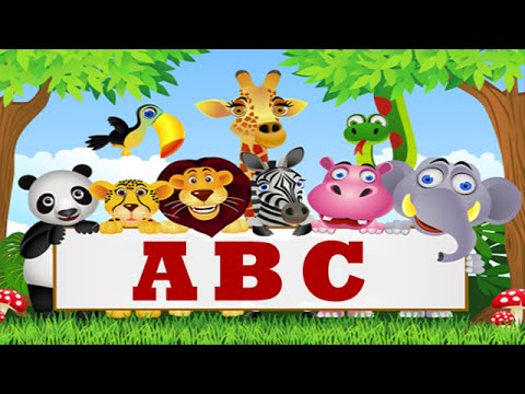 ABC ANIMALS SONG FOR CHILDREN - Music for Kids - Baby Learning Songs