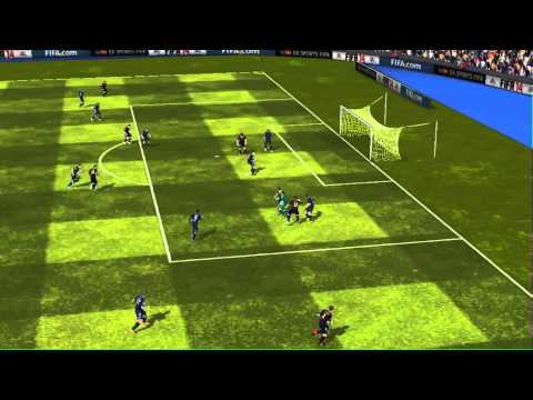 FIFA 14 iPhone/iPad - FC Barcelona vs. Málaga CF